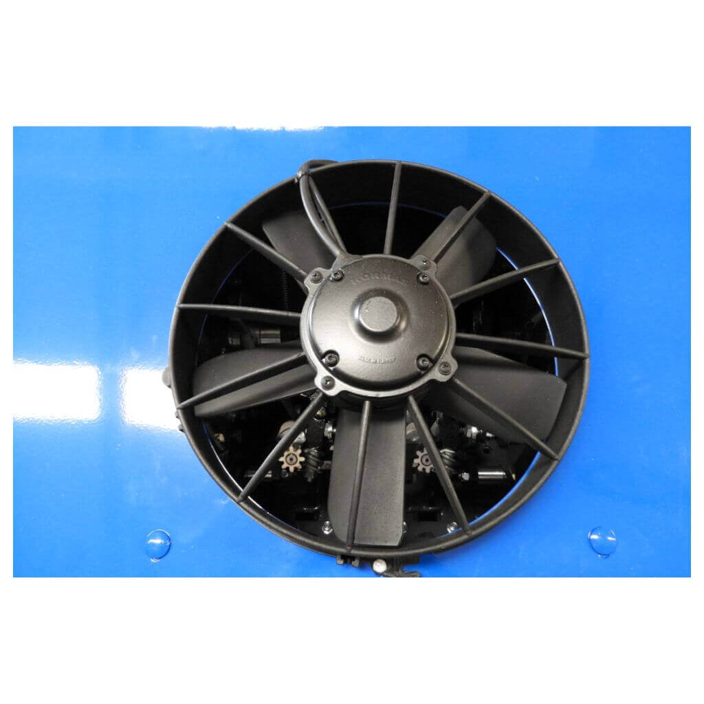 Fan System for cleaning