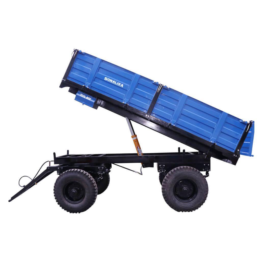 Optional Hydraulic Trailer Brake
