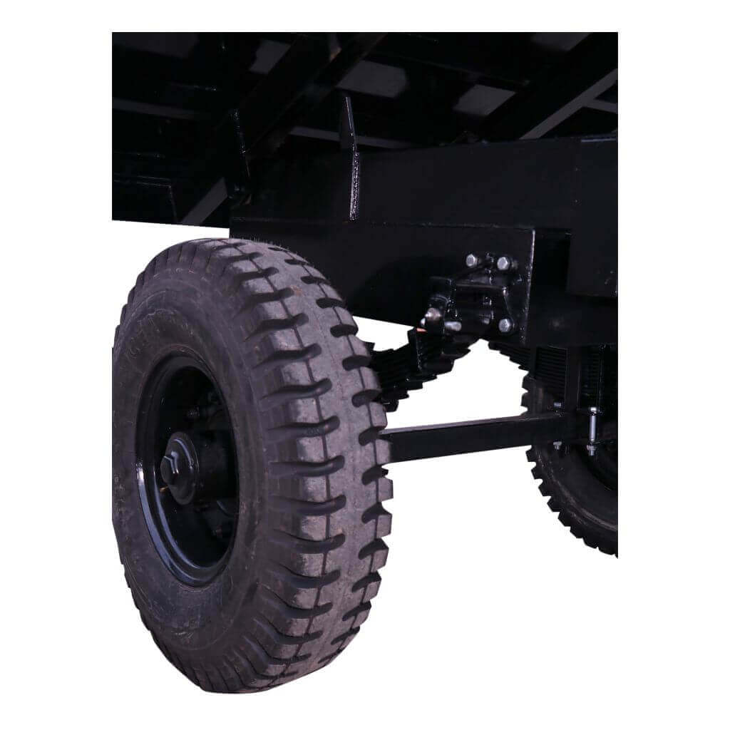Heavy duty axle for robust field operations