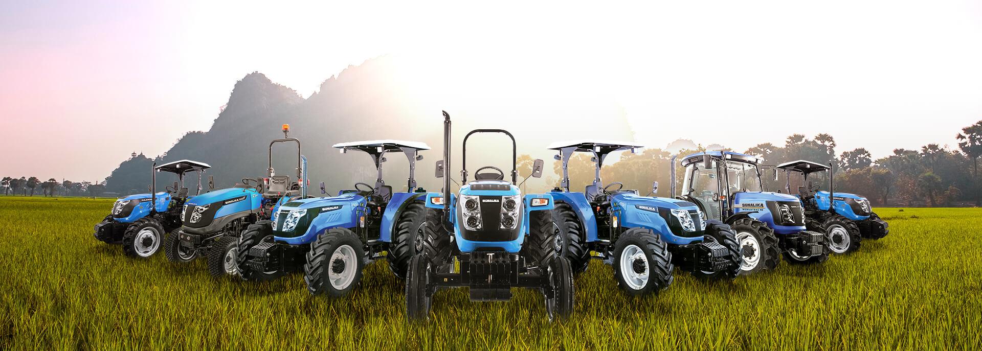 Sonalika tractors range