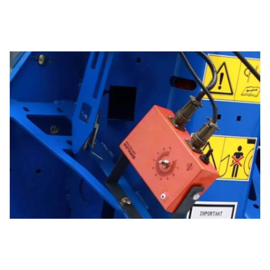 DC motor for vibration effect in belt for effective planting