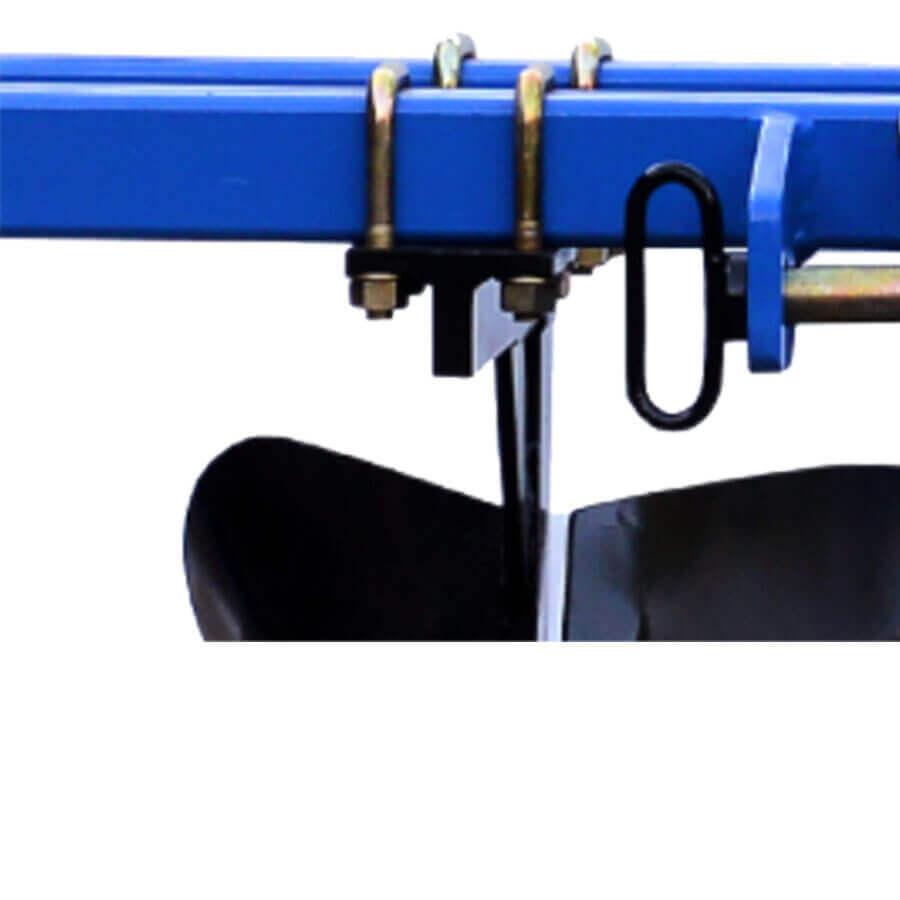 Easy furrow width adjustment