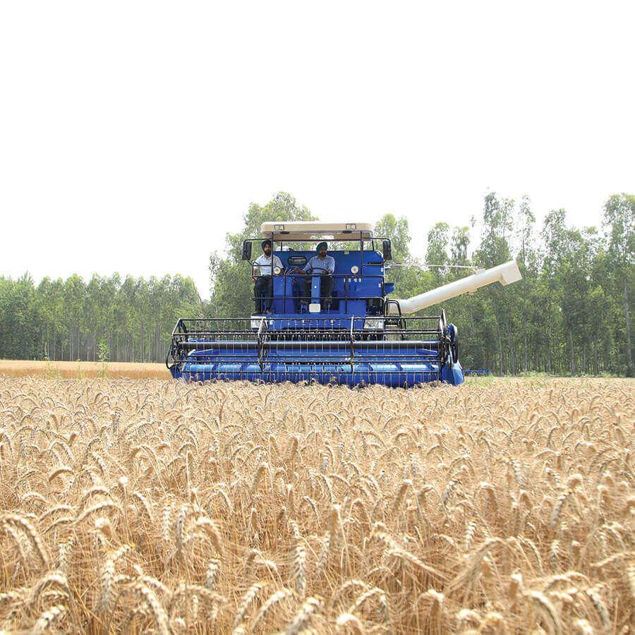 Self Propelled Combine Harvester