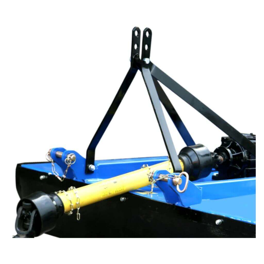 PTO shaft with safety shear bolts for extra safety